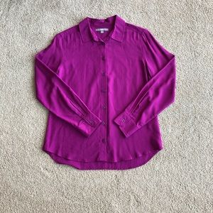 Fuschia Uniqlo dress shirt